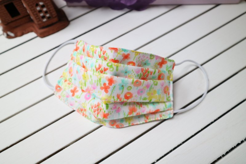 花開了 四重紗立體環保口罩 可清洗 重覆使用(兒童 ~ 成人)