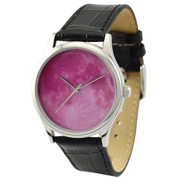 月球手錶 (粉紅)