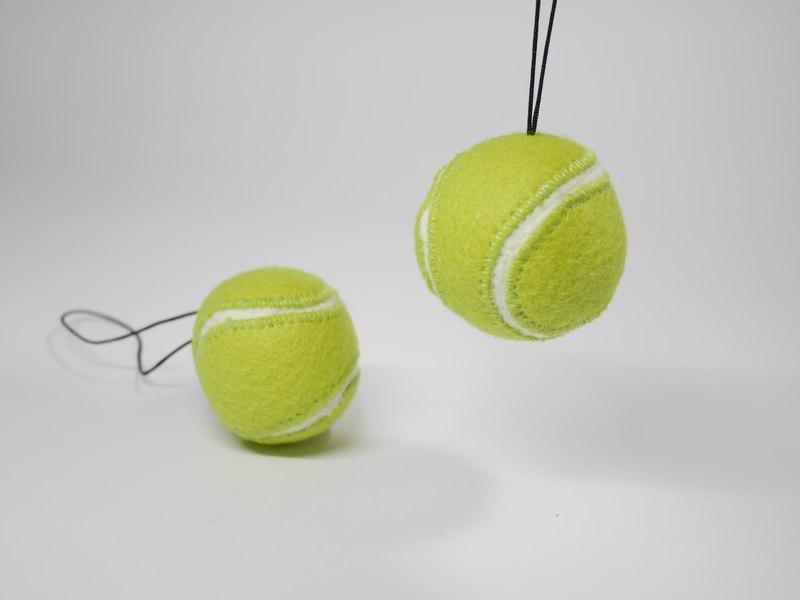 擬真網球小吊飾