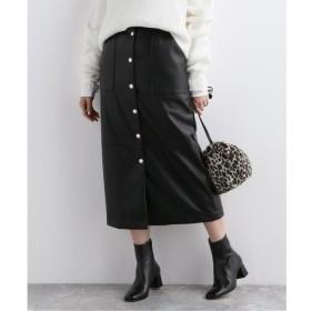 【ジャーナルスタンダード/JOURNAL STANDARD】 フェイクレザータイトスカート