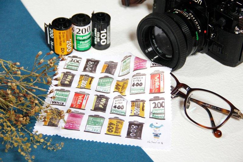水彩 眼鏡布 / 擦拭布 / 萬用布 - 菲林 底片 攝影