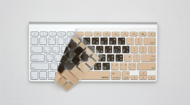 BEFINE  Apple Wireless Keyboard 中文鍵盤保護膜(8809402590452