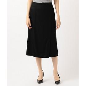 【送料無料】<ICB 大きいサイズ> 大きいサイズ Compact Mild スカート(SKCMKW0410) クロ【三越・伊勢丹/公式】