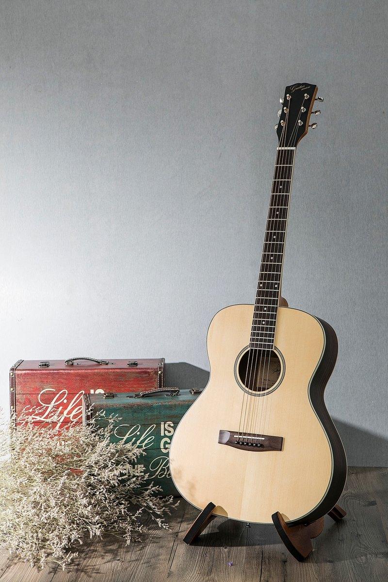 台灣原創 guitarman M-31A 40吋 雲杉面單 手工40吋OM桶身吉他