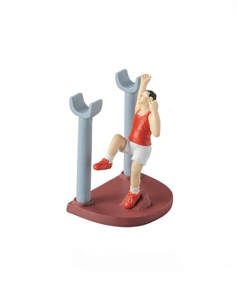 日本Magnets桌上奧運運動會系列收納筆座/筆筒(撐竿跳)