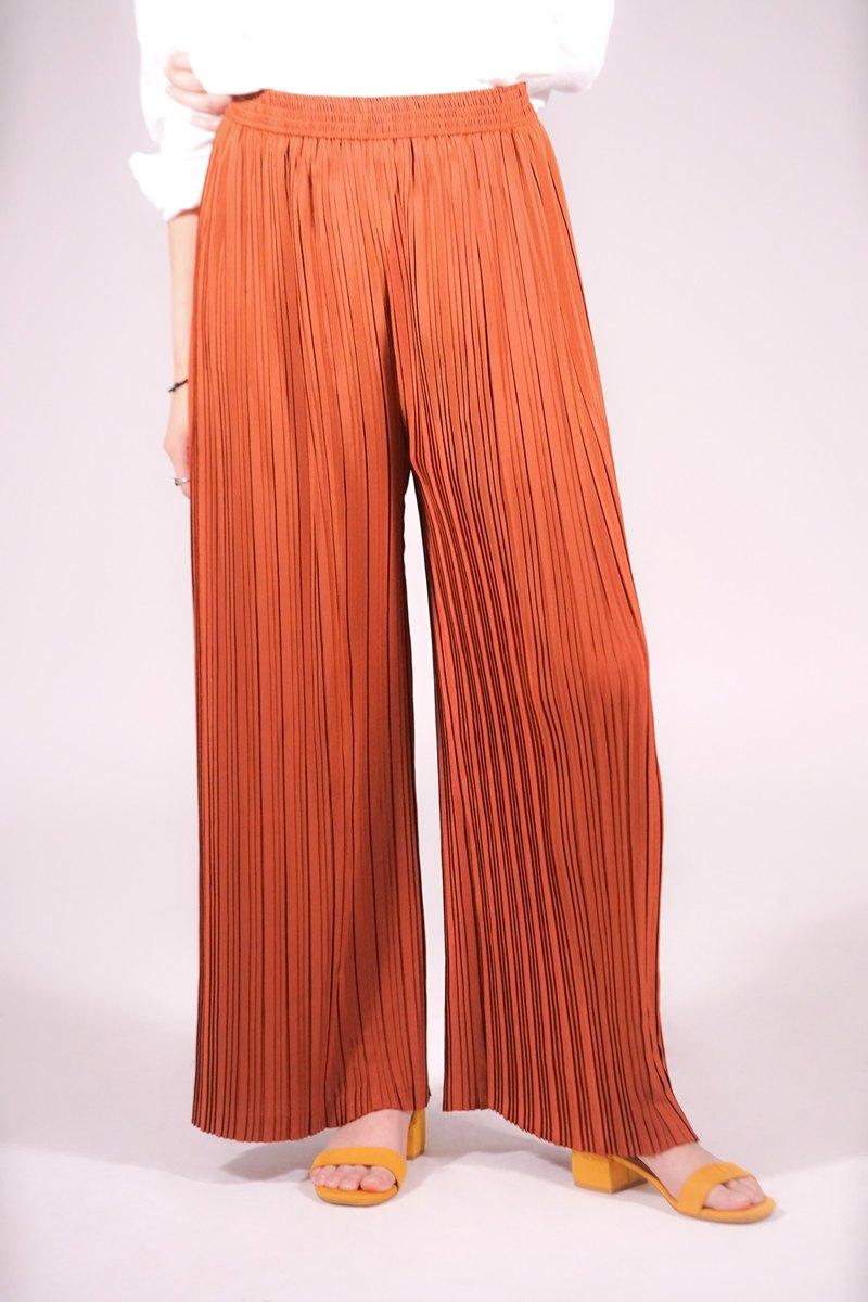 百褶褲,長腿
