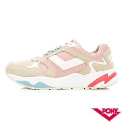 【PONY】Modern系列-復古運動鞋 厚底老爹鞋 潮流 舒適 球鞋 女 粉