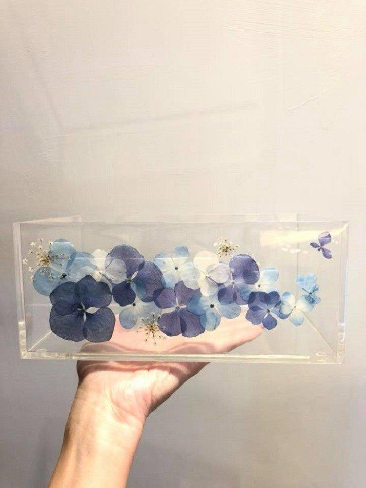 Oone_n_Only Handmade 押花紙巾盒