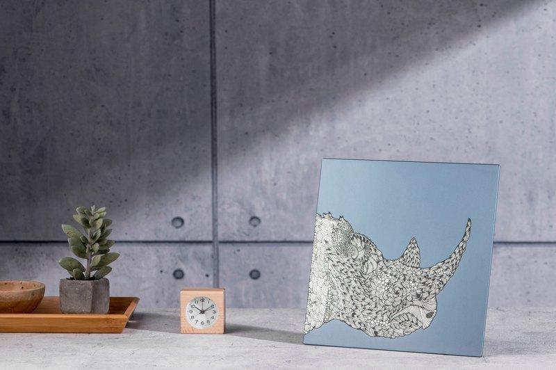 犀牛-鋁合金裝飾板-特仕版 Decor Board AL6061