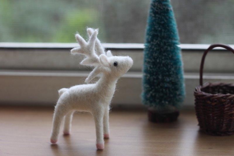 白色馴鹿 聖誕節送禮 交換禮物 最佳選擇 訂做款