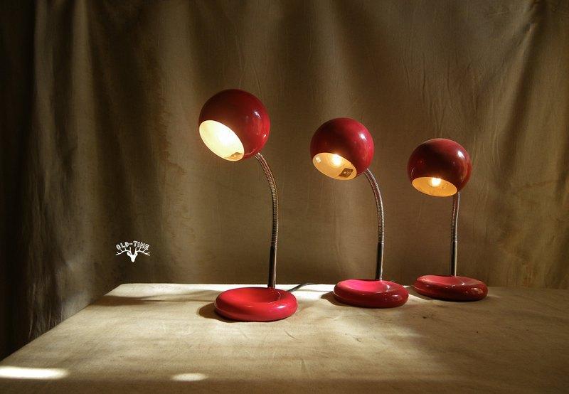 【老時光 OLD-TIME】早期台灣製金屬球燈*隨機出貨*