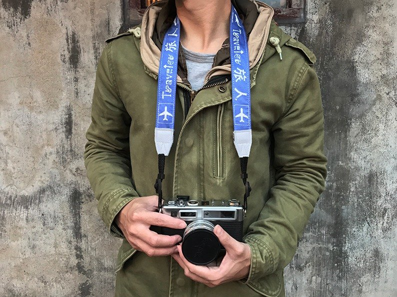 相機揹帶-旅人