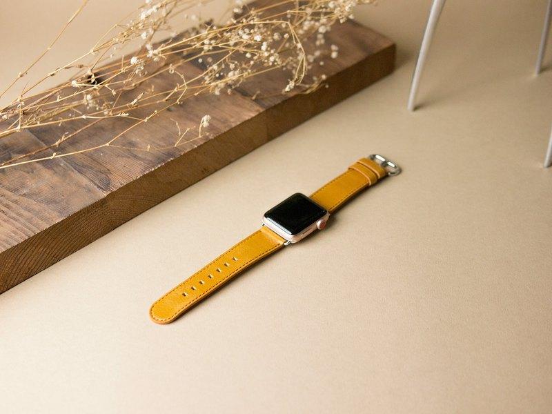 Alto Apple Watch 皮革錶帶 38/40mm - 焦糖棕