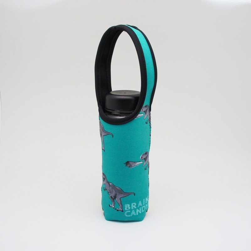 BLR 提把 保溫瓶套 BRAIN CANDY 聯名款 綠暴龍 水壺袋 TC38