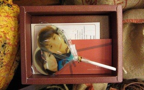 幸福可可-客製影像棒棒糖巧克力禮盒