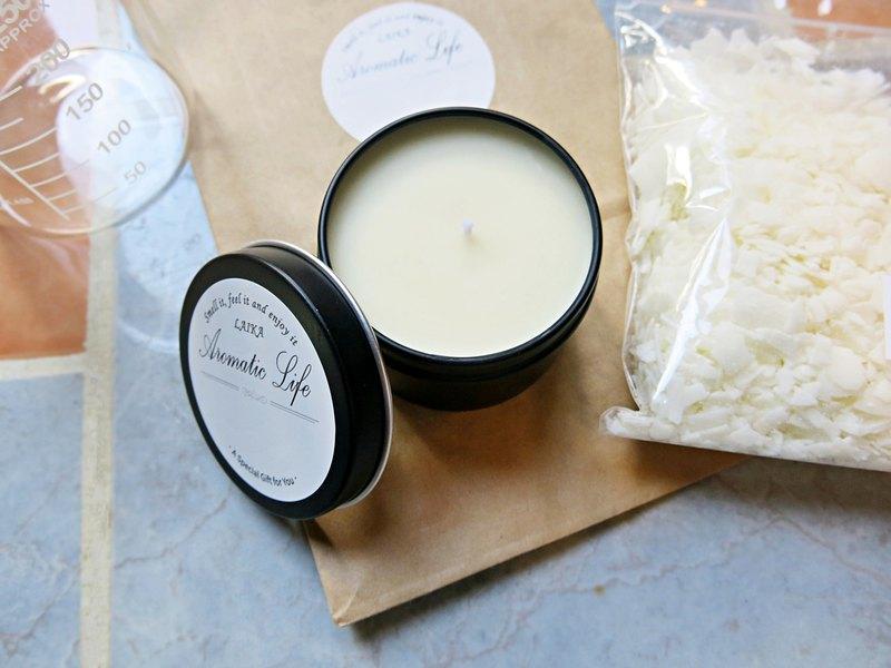 材料包 - 單方精油&大豆蠟精油蠟燭 DIY禮物