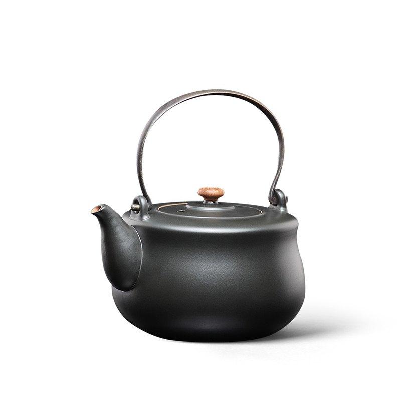 陶作坊│黑陶八式燒水壺