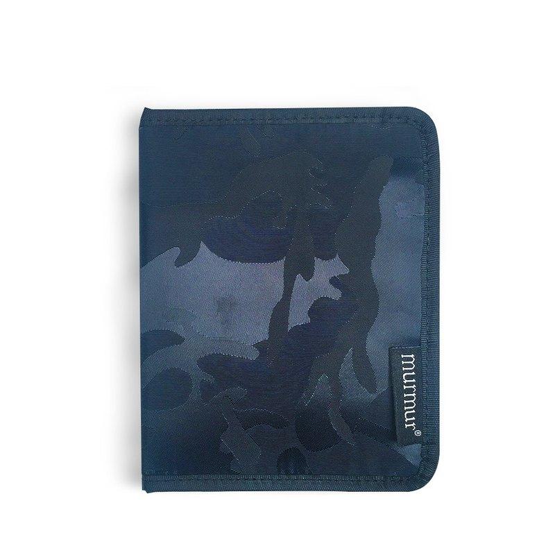murmur 護照套.護照夾 | 迷彩藍