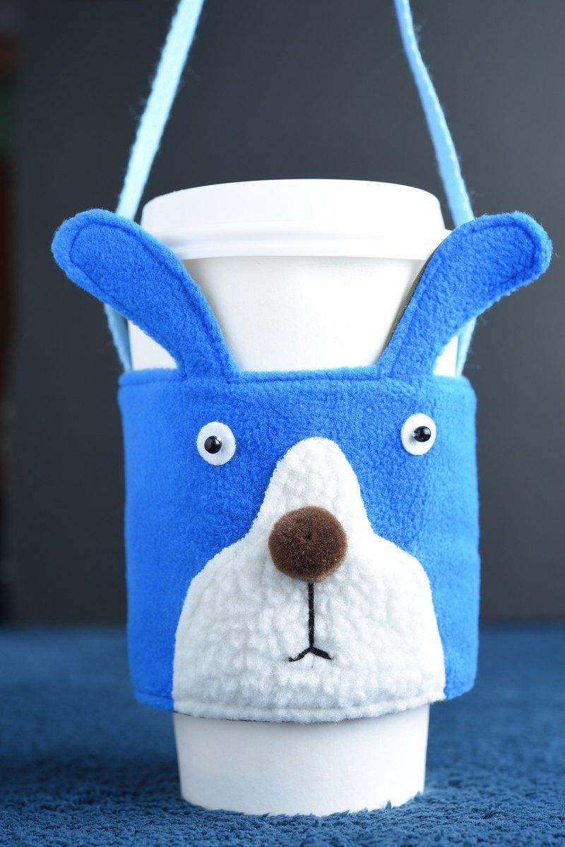 動 物 飲 料 杯 套 - 兔 子