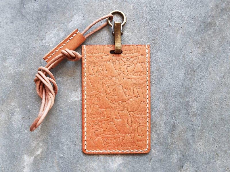 MOOMINx港產皮革 史力奇直身卡片套 材料包 好好縫 正式授權 阿金
