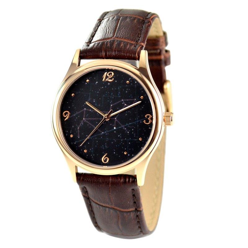 夜空星座手錶(獅子座) 全球免運