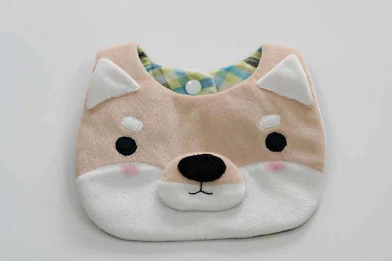 Bucute小柴口水巾/寶寶的彌月禮物/口水巾/彌月