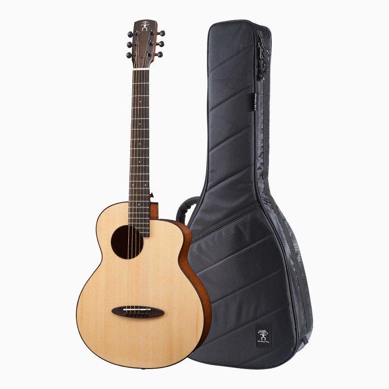 M12 - 36吋旅行吉他 - 西加雲杉/桃花心木