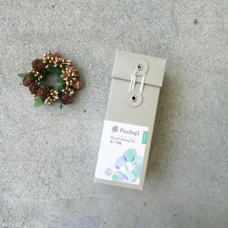 【自然複方茶包系列】梔子烏龍