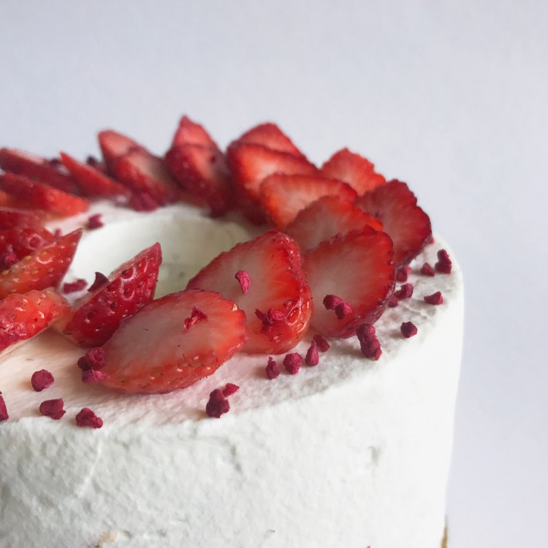 【戚風蛋糕】客製化鮮奶油蛋糕 | 6吋、8吋、雙層
