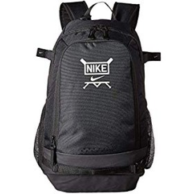 [NIKE(ナイキ)] キッズバッグ、リュック等 Vapor Clutch Bat Baseball Backpack Black/Black/White One Size [並行輸入品]