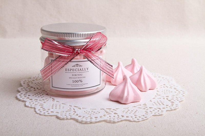 婚禮小物-法式馬林糖Meringue-櫻花禮讚 | 桌上迎賓禮 生日分享