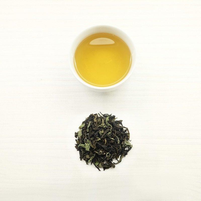 【沁涼微風】| 薄荷綠茶原片茶葉 75g