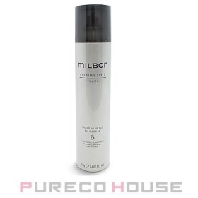 ミルボン Global milbon ミディアムホールド ヘアスプレー 6 (ヘアスタイリング) 210g【メール便は使えません】
