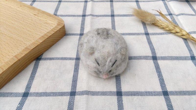 羊毛氈 小物 寵物 倉鼠 鼠 趴款 (無腳)