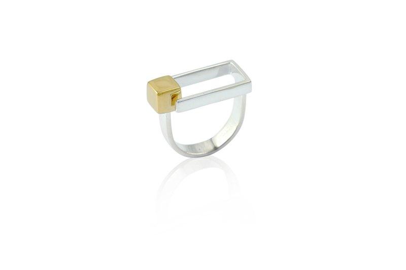QUAD戒指 - 純銀