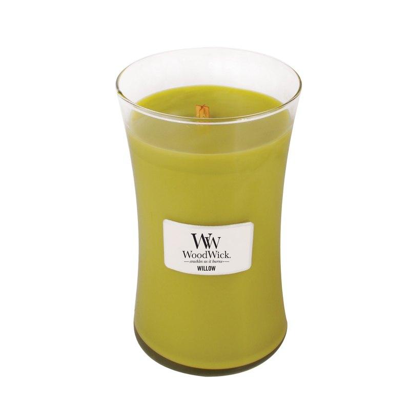 【VIVAWANG】WoodWick香氛大杯蠟 柳樹橡苔