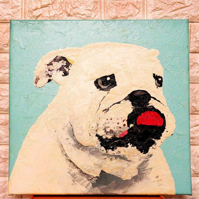 客製化 寵物肖像刀畫