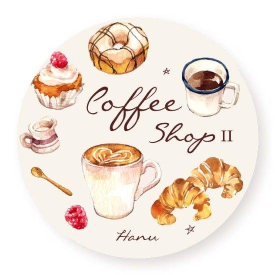 Atelier Hanu / Coffee Shop II 咖啡店2 紙膠帶