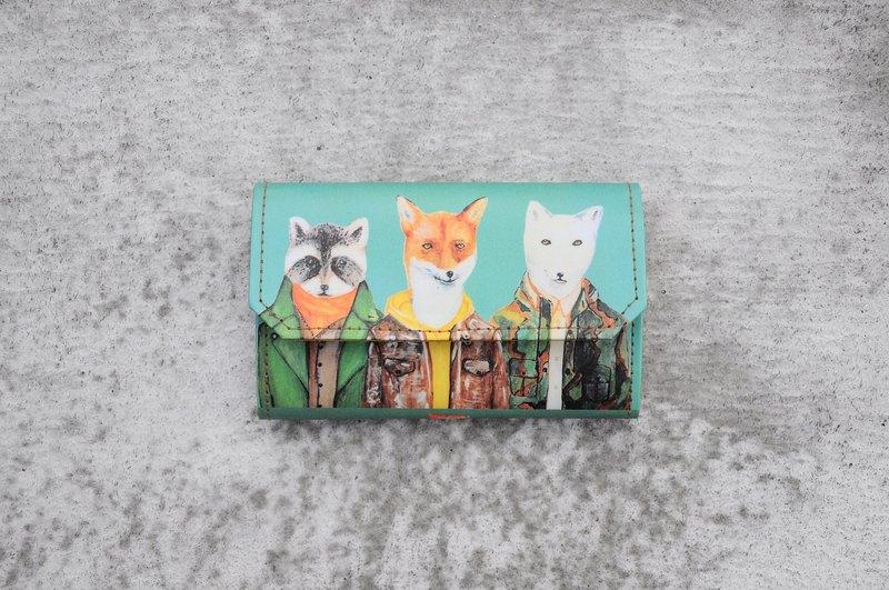 小紙包/卡片零錢包-狐狸好朋友