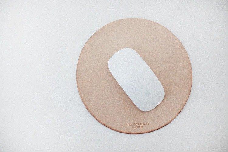 鼠標墊 原色 真皮 手工 匠人 設計師 商務原色
