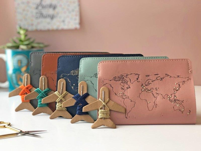 親愛的旅伴 護照夾75折優惠雙組合