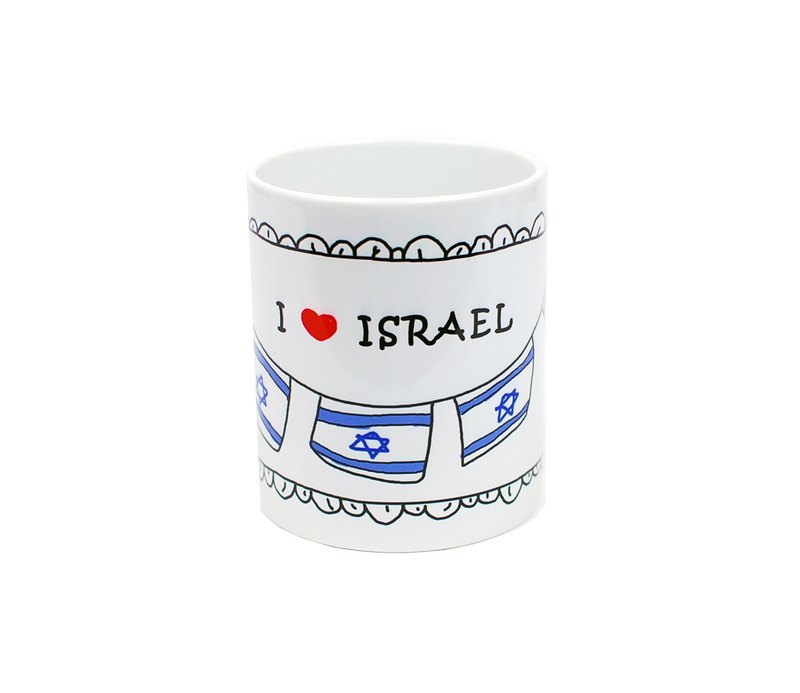 I LOVE ISRAEL---馬克杯