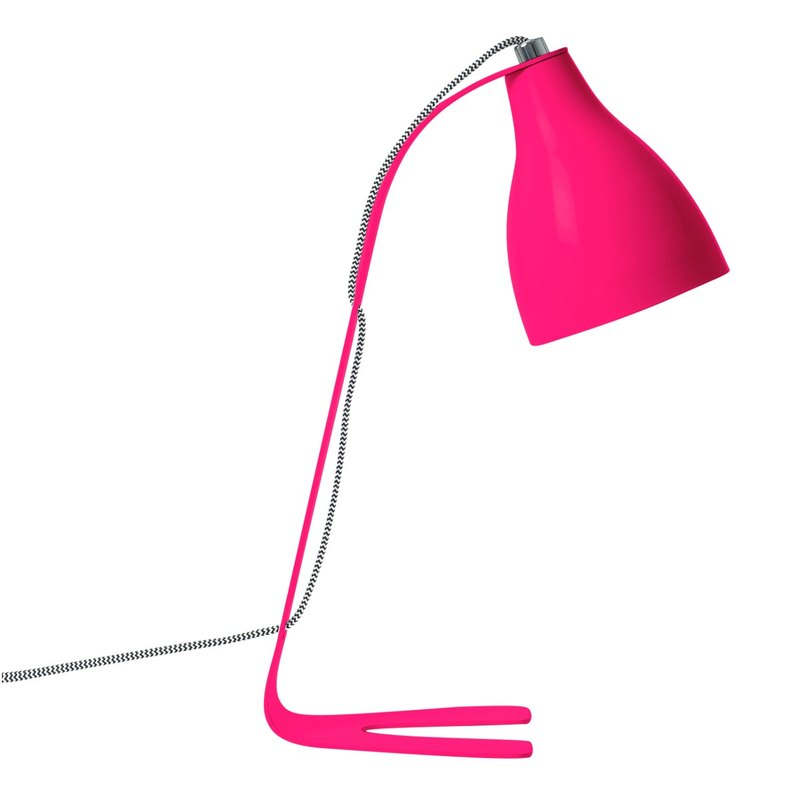 Leitmotiv, Barefoot Table lamp neon pink