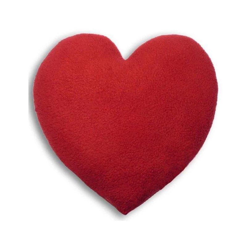 舒緩經痛身體局部熱敷/冷敷袋- 愛心造型 (紅色)
