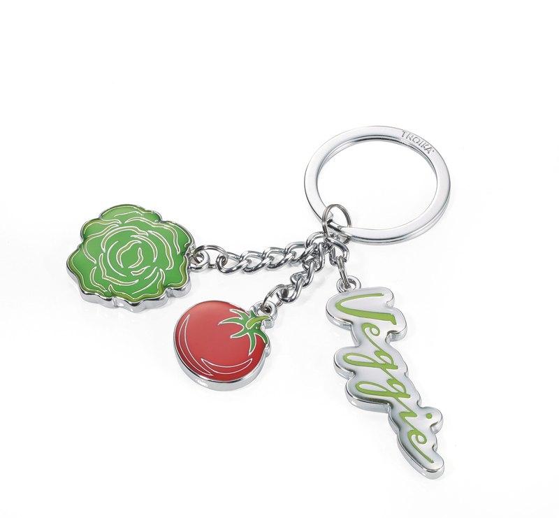 美顏蔬果鑰匙圈