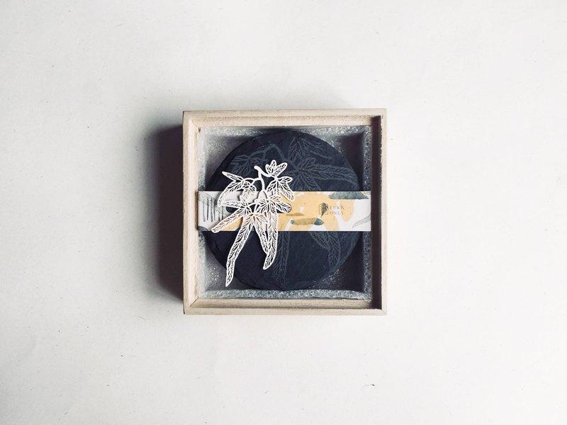 蕨類化石石皿 - 海金沙|燭台 擺盤 杯墊 送禮 居家 質感 氣氛