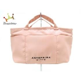 アンテプリマミスト ANTEPRIMA MISTO ハンドバッグ 美品 ピンク ミニ ナイロン 新着 20191004