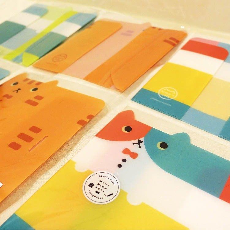 hime's cats 我的貓隨身筆記本彩色系列- 書套