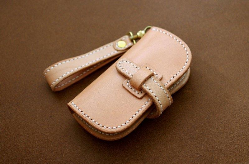 馬鞍皮革鑰匙包 (插入類型)
