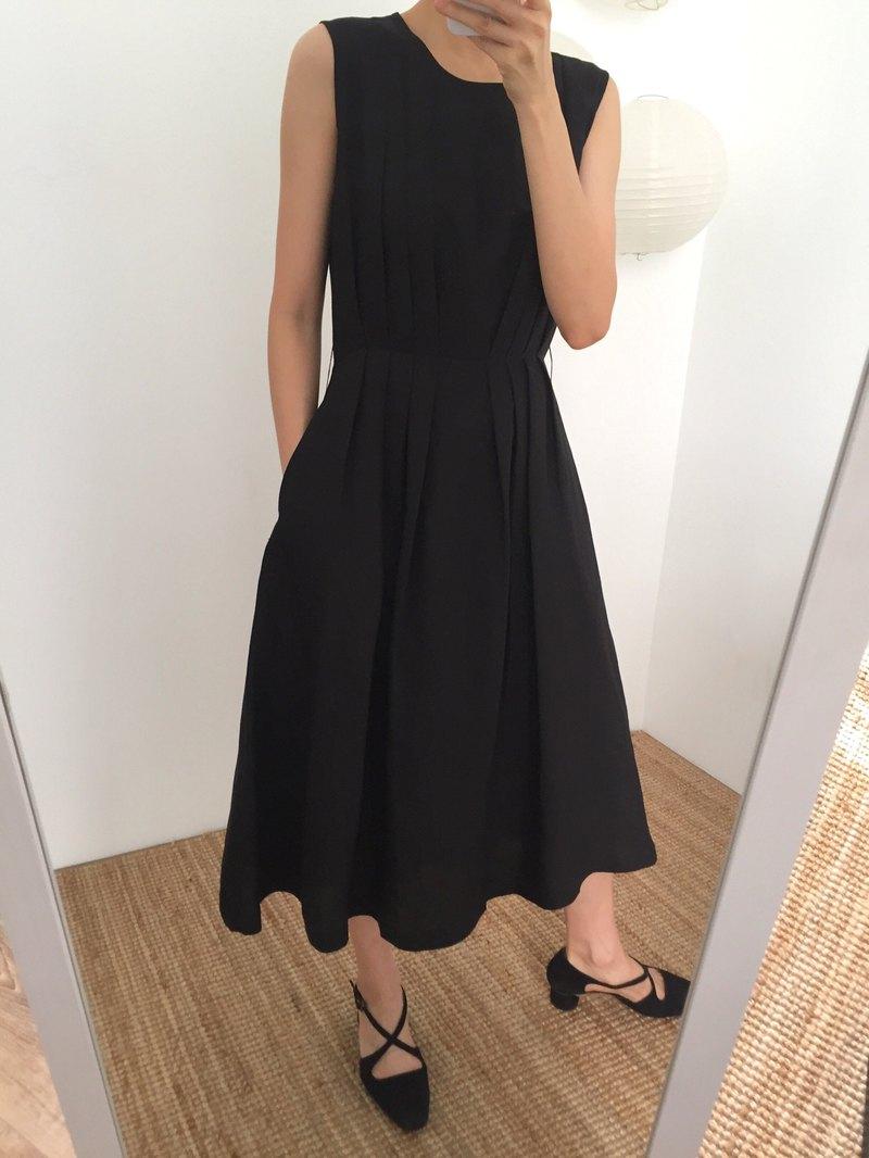 Etude Dress 無袖亞麻夏日婚宴微禮服(可訂做其他顏色)